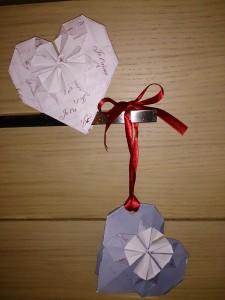 Le faire part de mariage en origami