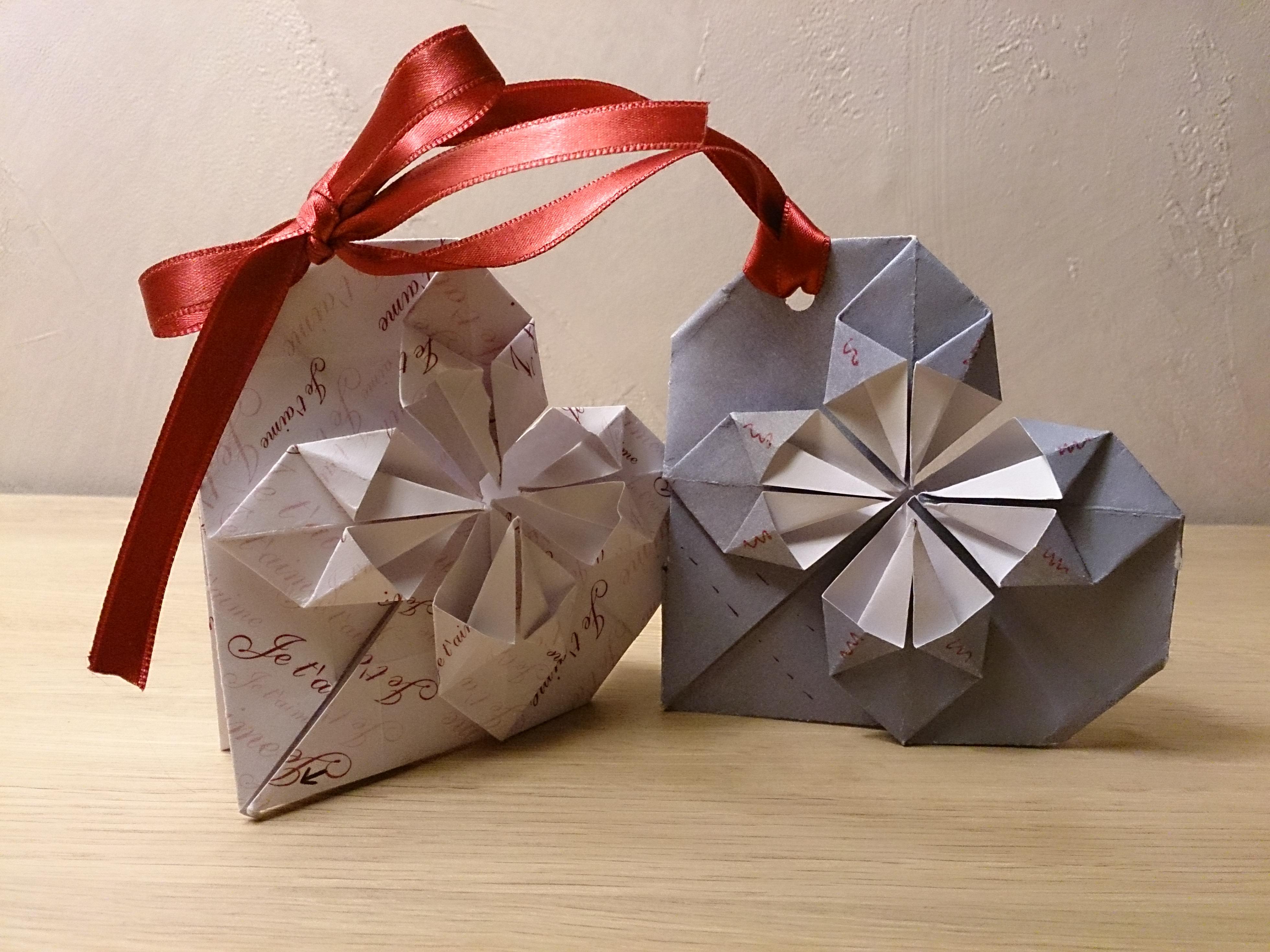 faire part mariage origami