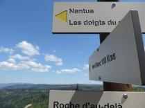 Randonnée vers Nantua dans l'Ain