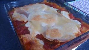 lasagnes epinards  - mozzarella (1)