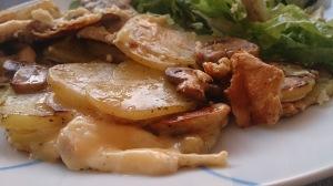 omelette pomme de terre champignons (1)