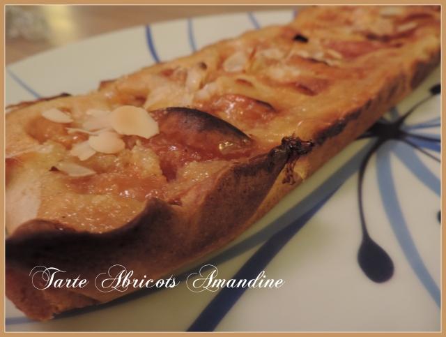 Tarte Abricot Amandine (1)