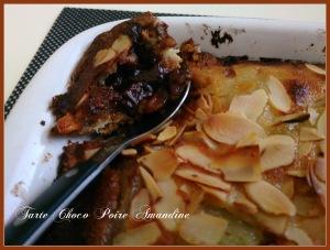 tarte poire choco amandine, prune amandine (7)