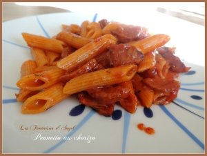 Pennetto aux chorizo (1)