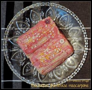 Bûchettes framboises mascarpone (3)