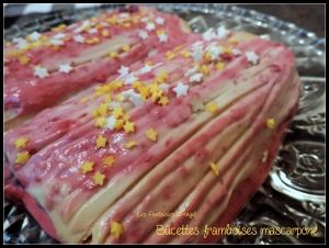 Bûchettes framboises mascarpone (4)