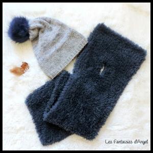 Bonnet et écharpe de lutin